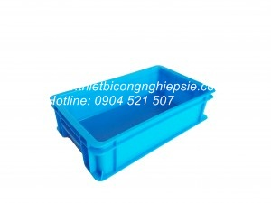 Thùng nhựa đặc B2 (452x272x120)