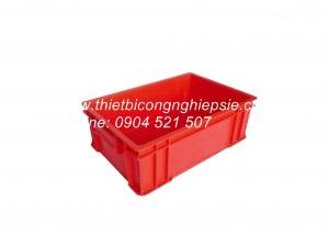 Thùng nhựa đặc B4 (510x340x162)