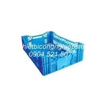 Thùng nhựa rỗng HS016 (595 x 400 x 190 mm)