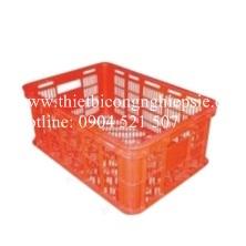 Thùng nhựa rỗng HS018 (525 x 370 x 215 mm)